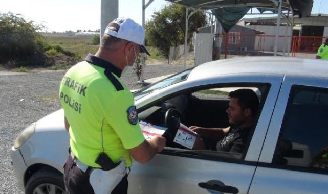 Sürücülere 'yaya önceliği' anlatıldı