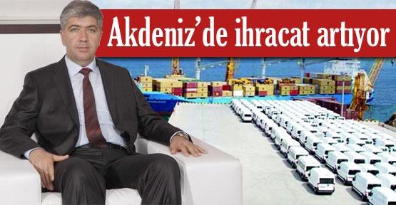 Akdeniz'de ihracat artıyor