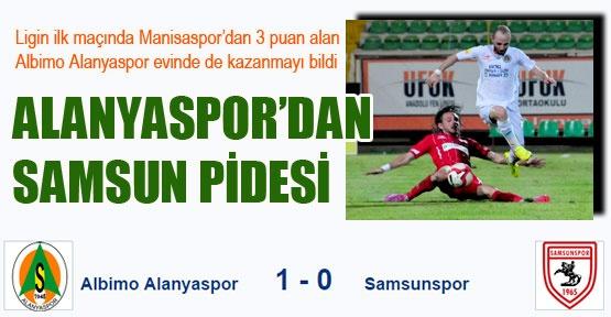 ALANYASPOR'DAN SAMSUN PİDESİ