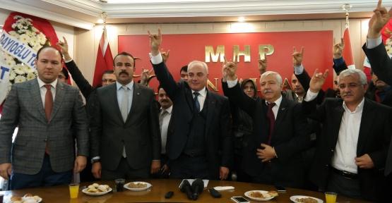Alpay Bilge MHP adaylığını açıkladı