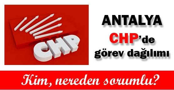 Antalya CHP'de görev dağılımı yapıldı