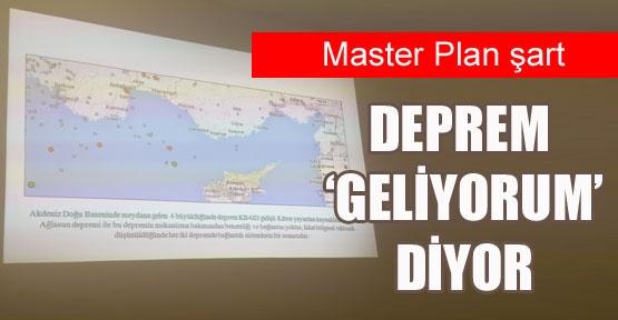 Antalya'da deprem 'geliyorum' diyor