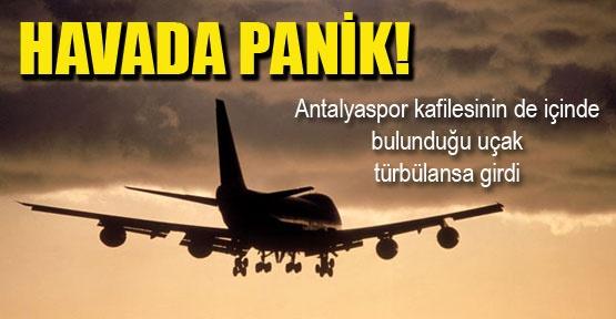 Antalyaspor kafilesi ölümden döndü