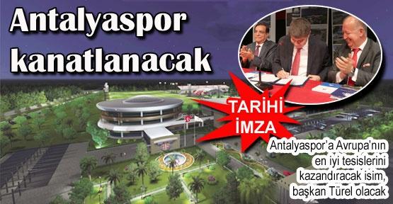Antalyaspor kanatlanacak
