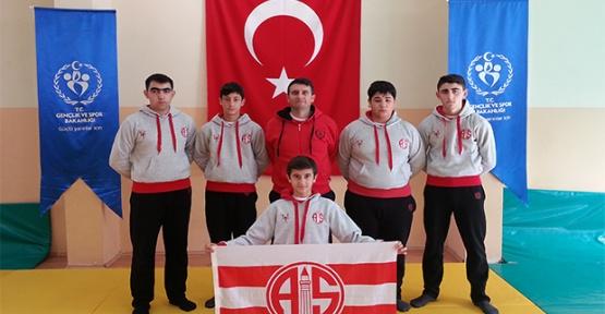 Antalyaspor'da judo heyecanı