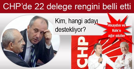 CHP delegeleri kimi destekliyor?