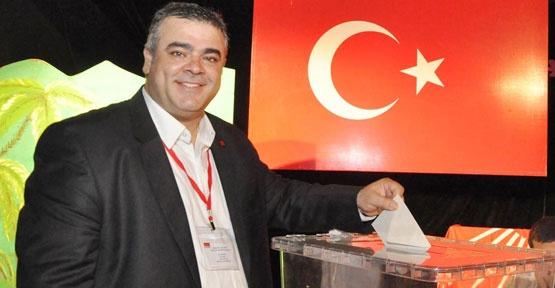 CHP Kemer'de Güneş yeniden başkan seçildi