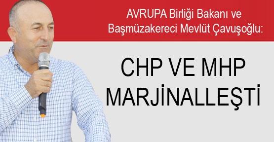 CHP ve MHP marjinalleşti