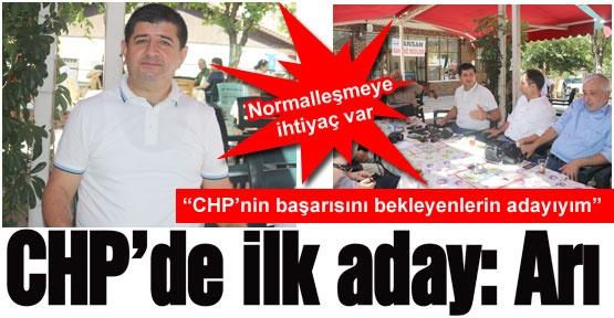 CHP'de ilk aday: Arı