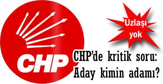 CHP'de kritik soru: Aday kimin adamı?