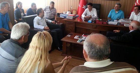 CHP'den MHP'ye bayram ziyareti