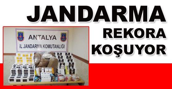 Jandarma rekora koşuyor
