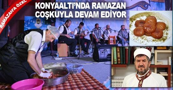 Konyaaltı'nda Ramazan coşkuyla devam ediyor
