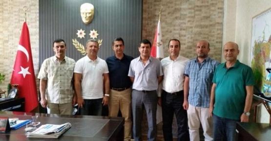 Masiad'tan Emniyet Müdürü İlhan'a ziyaret