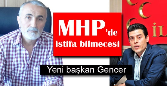 MHP'de istifa bilmecesi