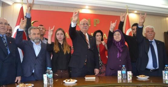 MHP'li Yumak  iddialı konuştu