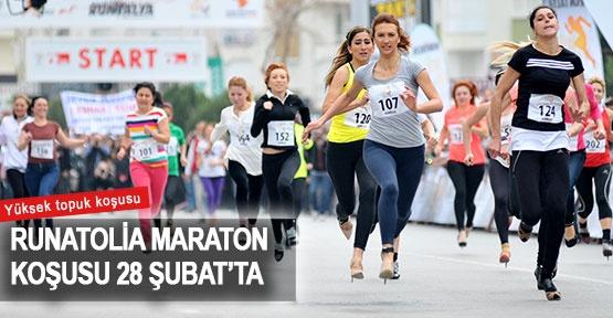 Runatolia Maraton koşusu 28 Şubat'ta